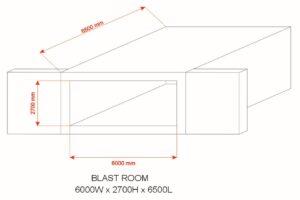 blast room